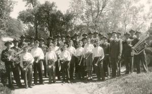 1952 Neuuniformierung: Vereinsfoto