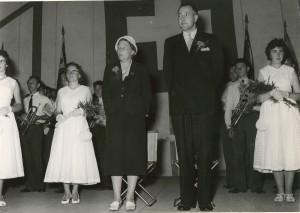 1958 Fahnenweihe: Fahnenpaten